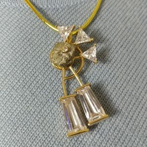 Designer Gold Plated Pendant